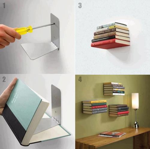 Ideias Criativas Para Estantes De Livros